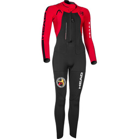 Head ÖTILLÖ Swimrun Rough Suit Damen black/red